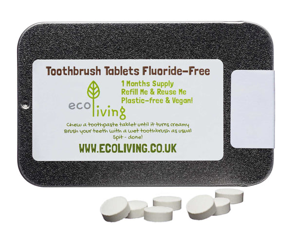 Toothpaste Tablets - No Fluoride - Smallkind