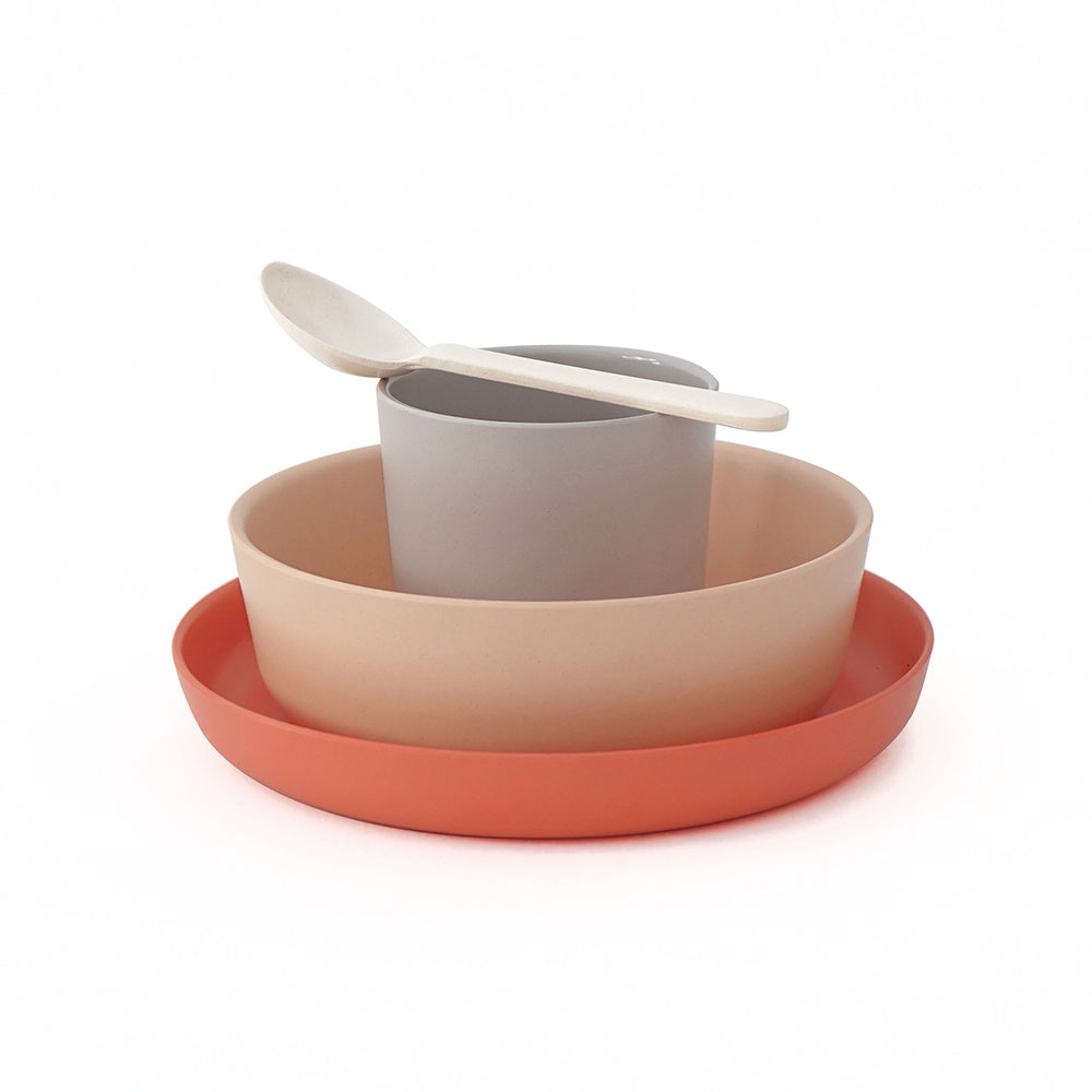 ekobo bambino kids set - blush terracotta