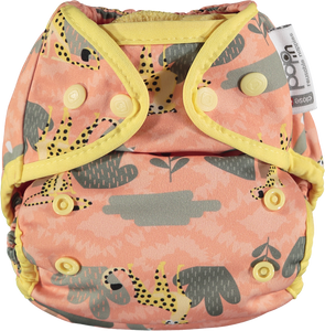 Close Pop In Popper Nappy - Great Plains Collection - Cheetah