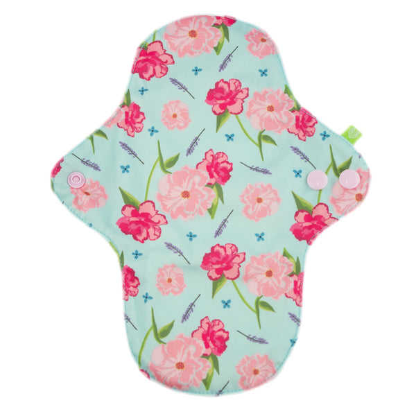 Fern Reusable Period Pads - Floral - Smallkind