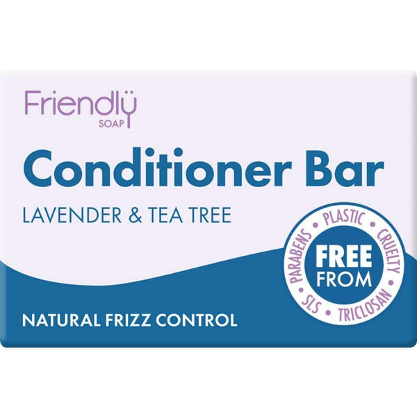 Friendly soap lavender conditioner bar