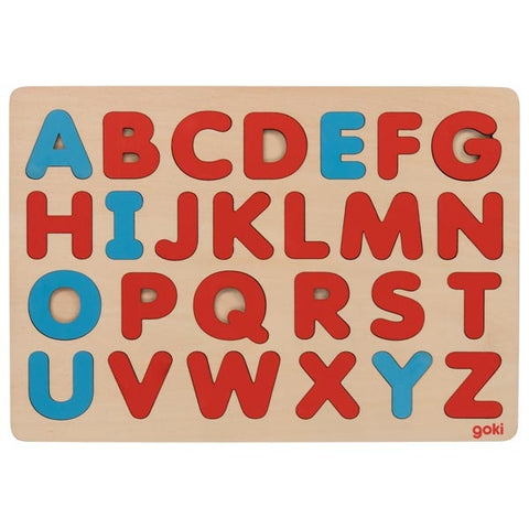 goki montessori alphabet puzzle in French