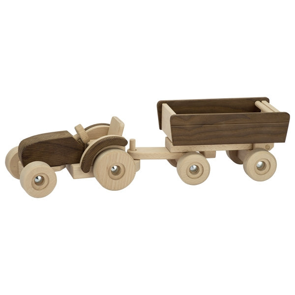 Goki Nature Tractor with Trailer - Smallkind