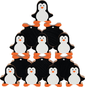 goki penguin stacking game