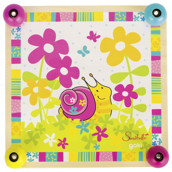 Susibelle Wooden Flower Press with snail design