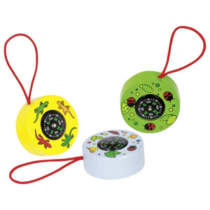 Goki kids wooden compass