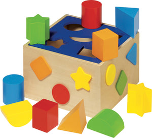 Goki Shape Sorter Box - Smallkind