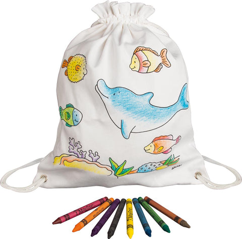 Sea Animals Rucksack - Decorate Your Own - Smallkind