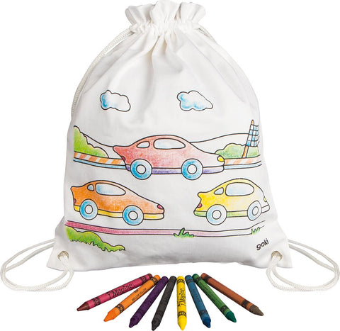 Cars Rucksack - Decorate Your Own - Smallkind