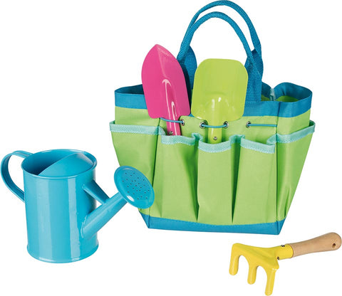 goki garden tools in a bag