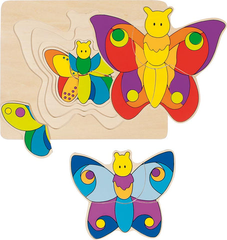 Butterfly Layer Puzzle - Smallkind