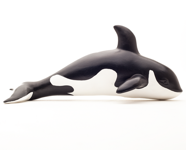 Green Rubber Toys Orca Whale - Smallkind
