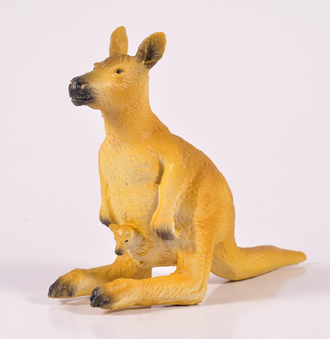 Green Rubber Toys Kangaroo - Smallkind