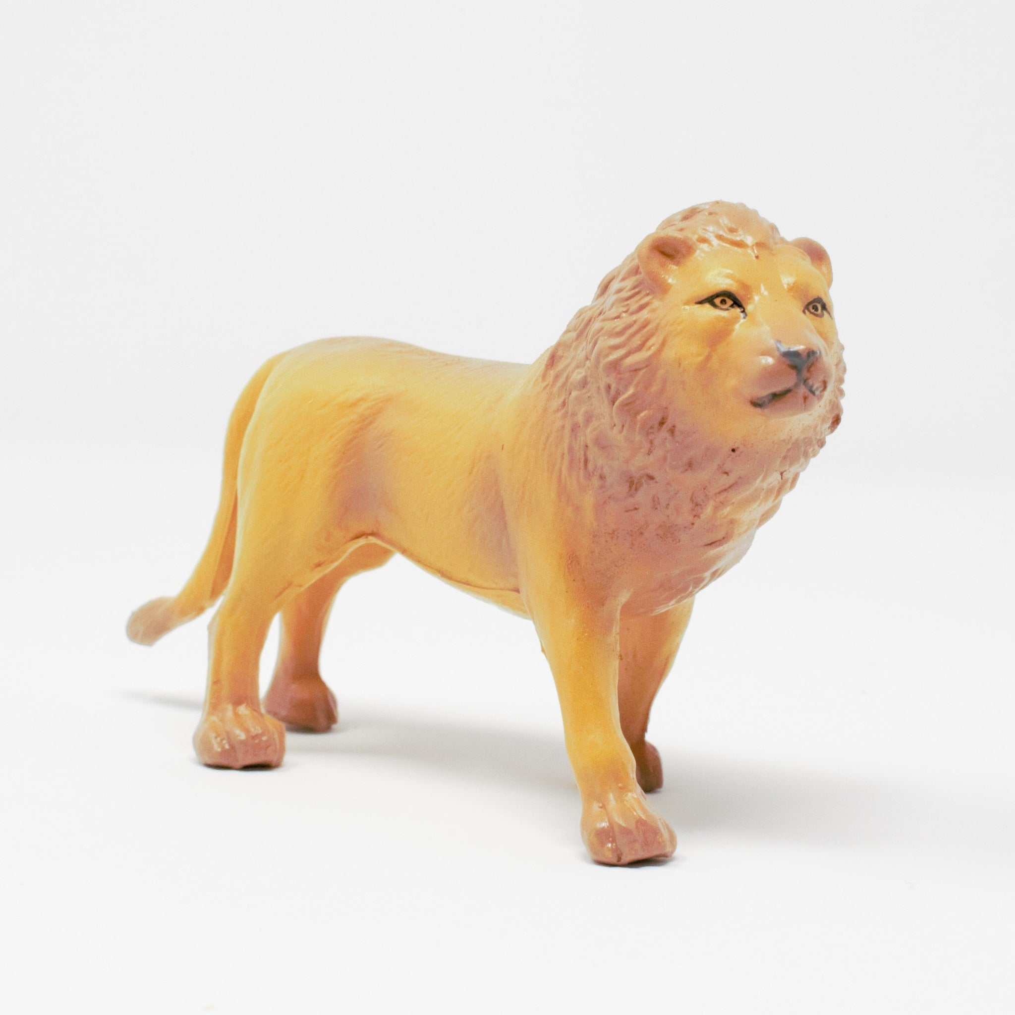 Green Rubber Toys Lion - Smallkind