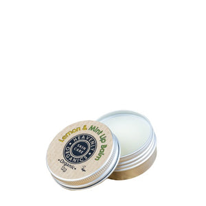 heavenly organics lemon and mint lip balm