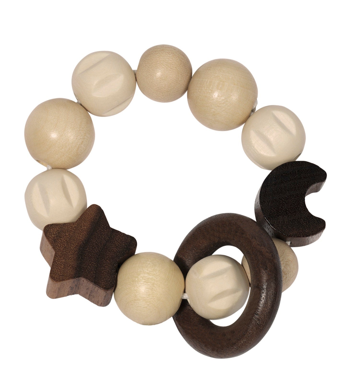 Heimess Nature Moon + Star Touch Ring - Smallkind
