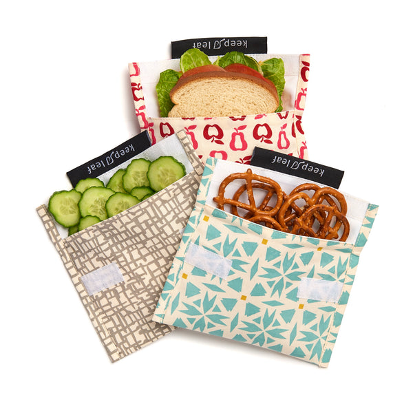 keep leaf large snack bags and sandwich wraps
