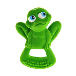 lanco bo the frog rubber teether