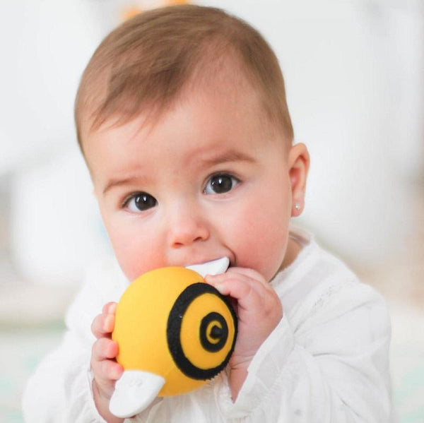 lanco pic the bee rubber teether