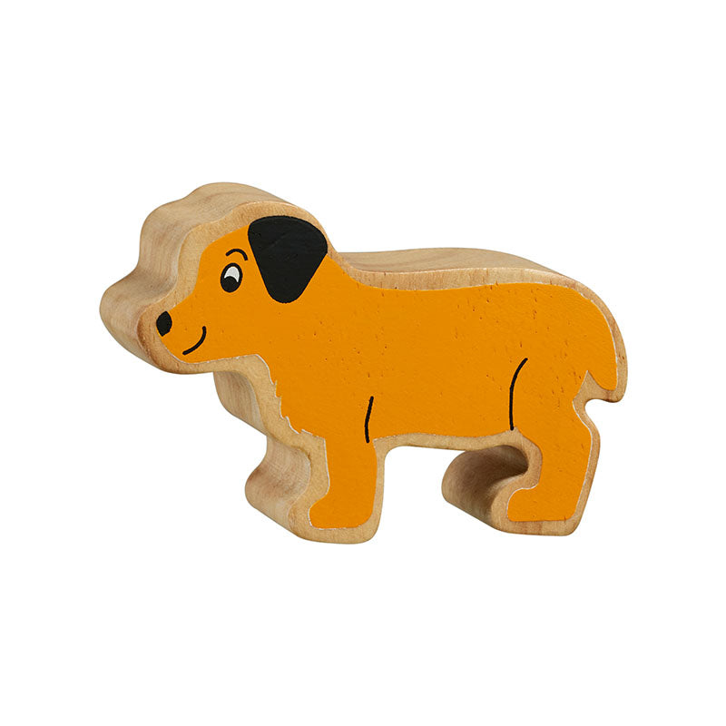 lanka kade wooden puppy figure