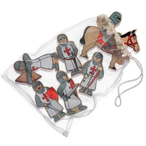 lanka kade wooden knights red - bag of six