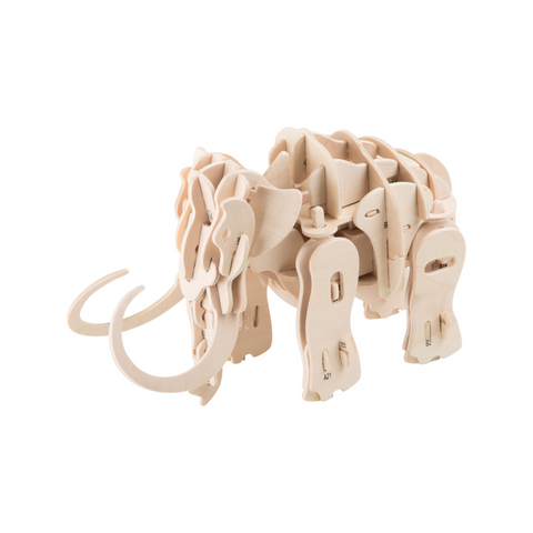 Small Foot Mammoth Robot Wooden Construction Kit