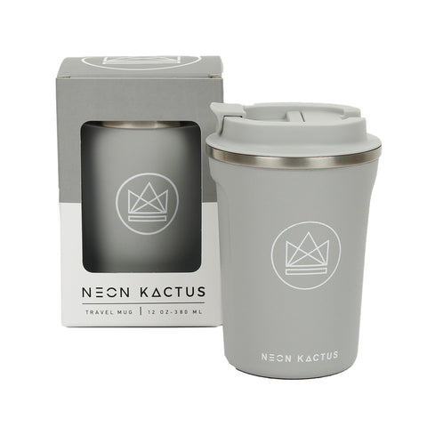 Neon Kactus Insulated Travel Cup - Sea Shell - Smallkind