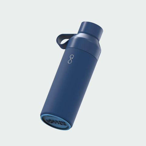 ocean bottle reusable bottle in blue