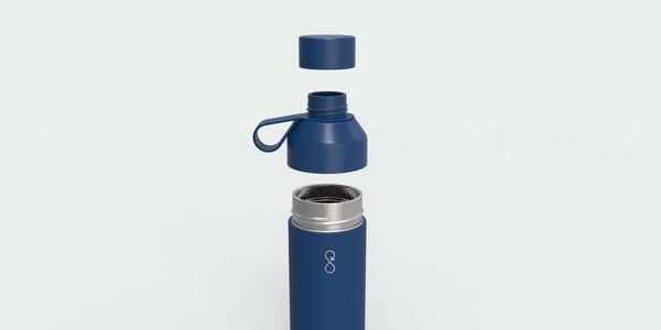 Ocean Bottle Insulated Bottle 500ml - Ocean Blue - Smallkind