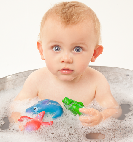 lanco ocean bath toy set