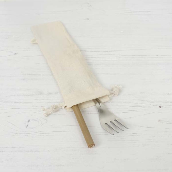 Organic Cotton Utensil Pouch - Smallkind