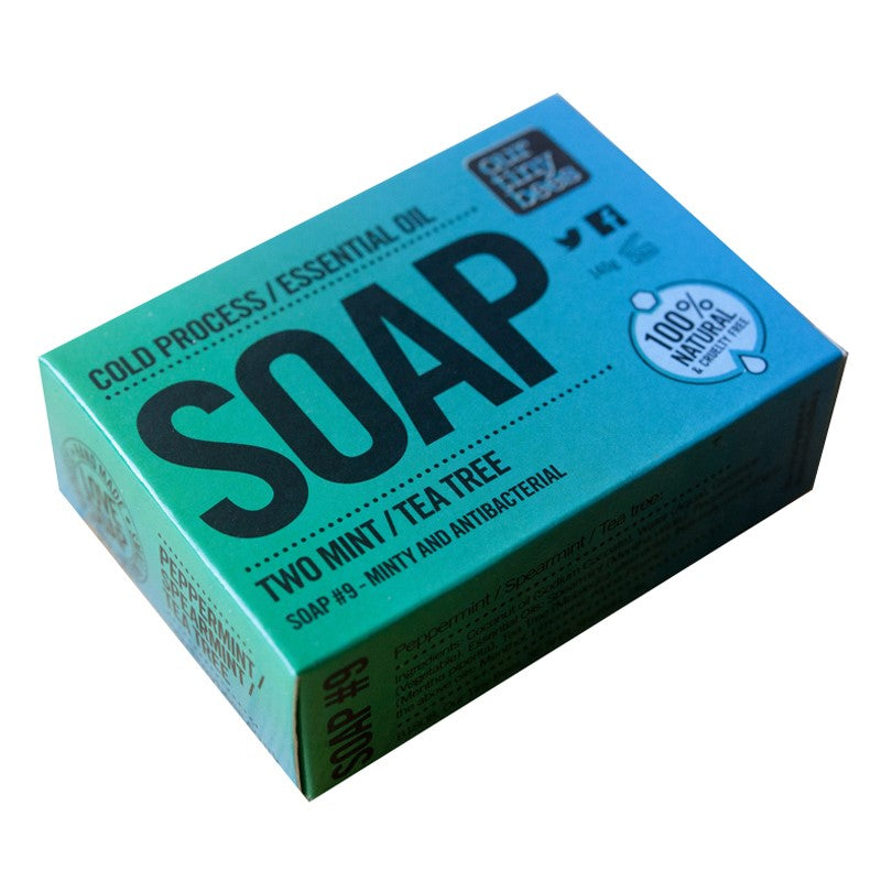 Mint + Tea Tree Antibacterial Soap - Smallkind