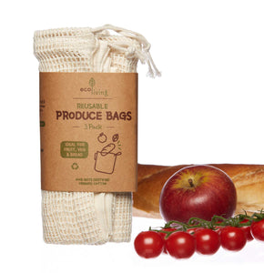 Organic Mixed Produce Bags - Set of 3 - Smallkind