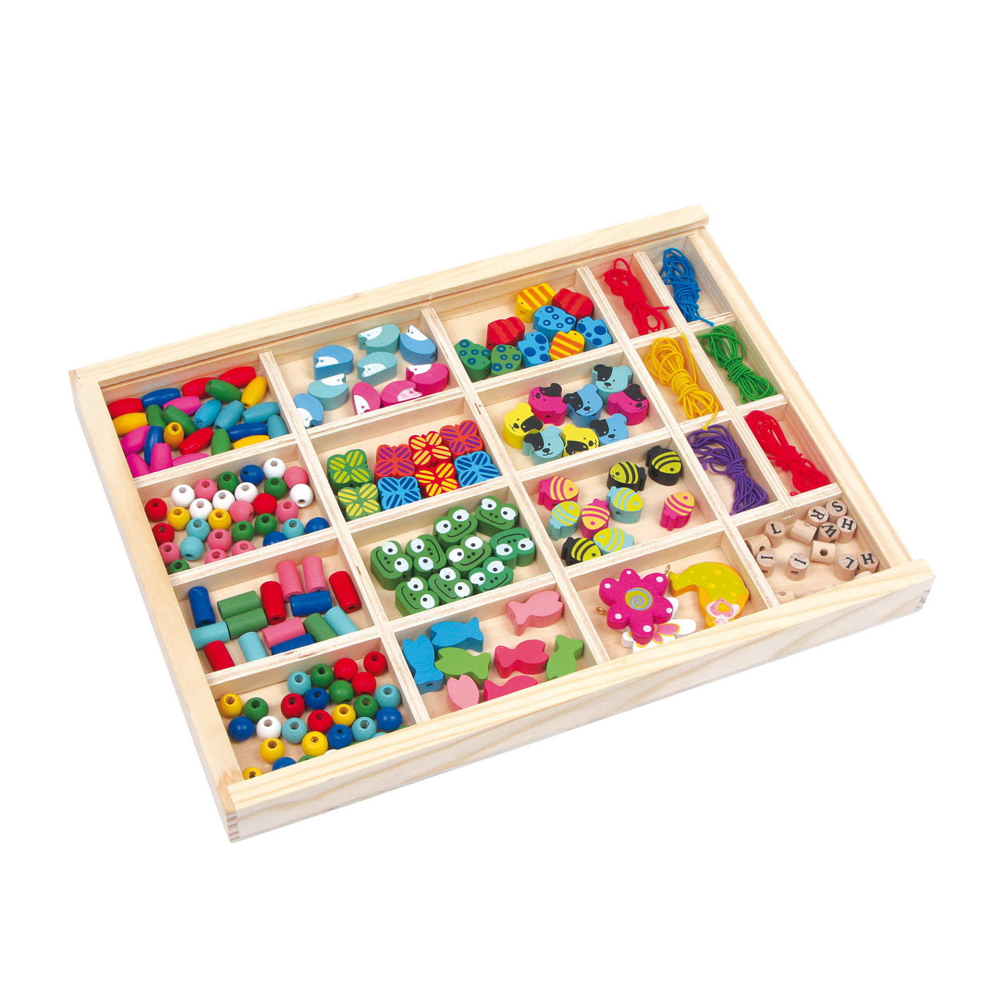 Small Foot Deluxe Threading Beads Crafting Set