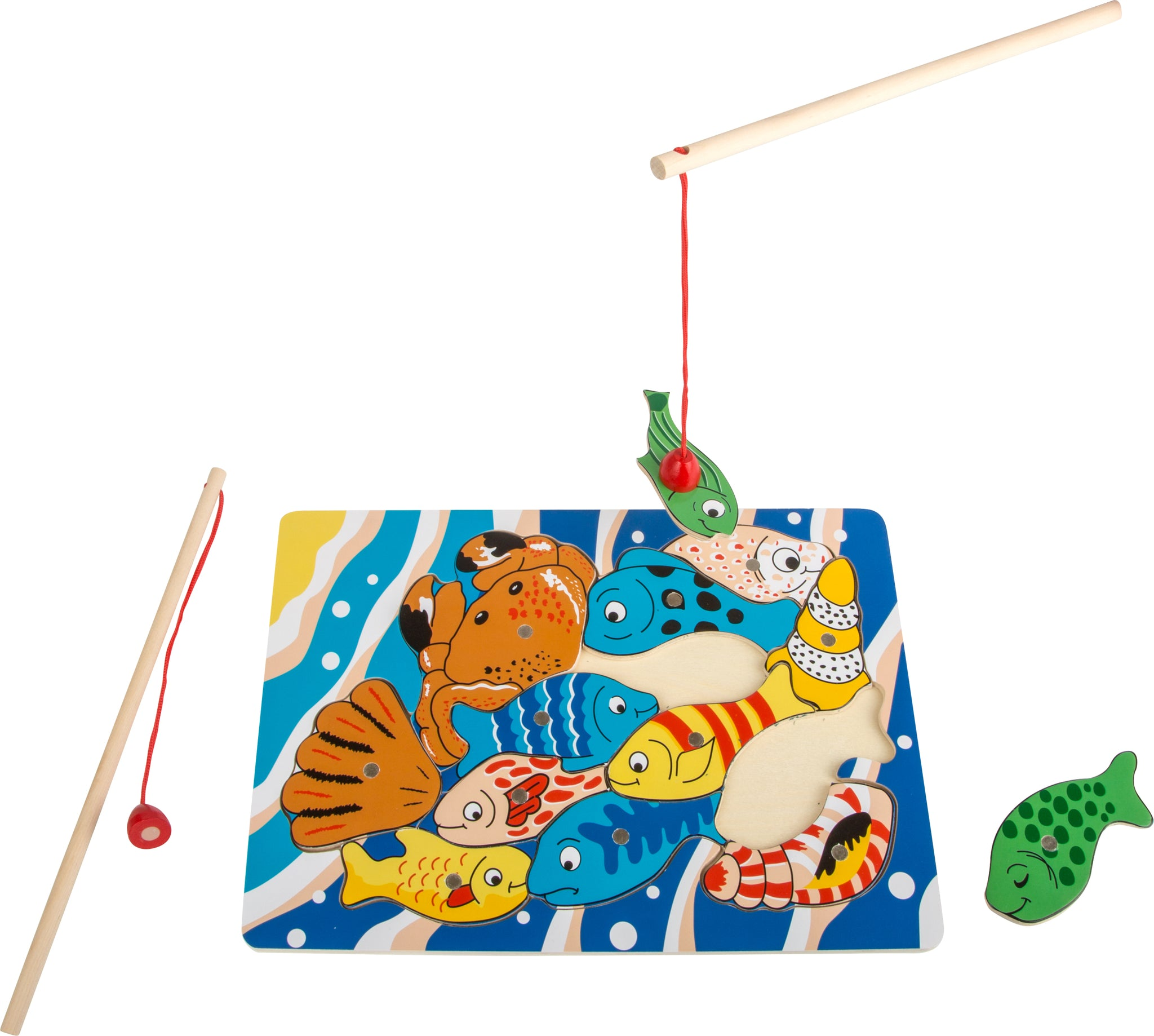 Small Foot Fishing Puzzle