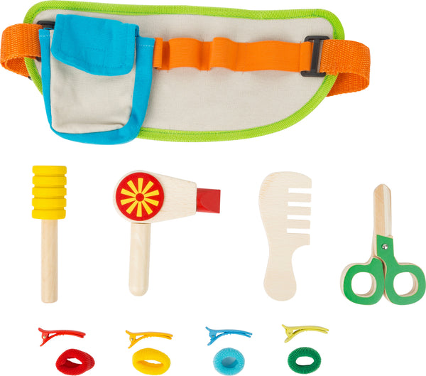 small foot colourful hairdressing set
