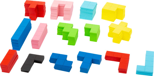 Small Foot Wooden Geometric Tetris Puzzle