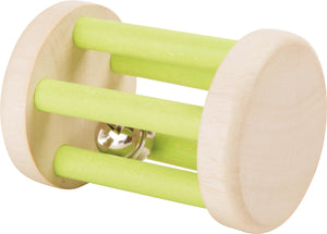 Small Foot wooden baby Rattle with Little Bell