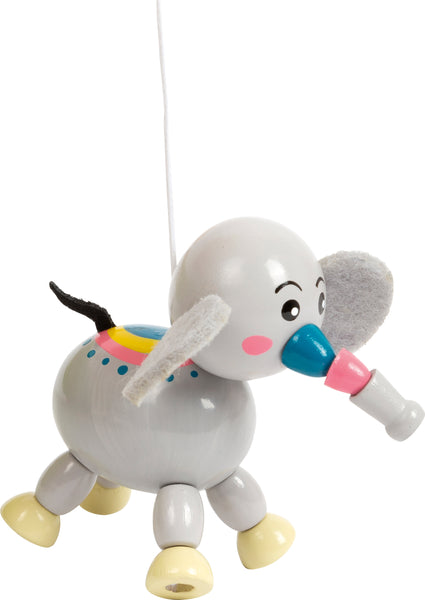 elephant from small foot jungle animal mobile
