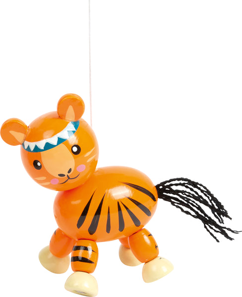 tiger from small foot jungle animal mobile