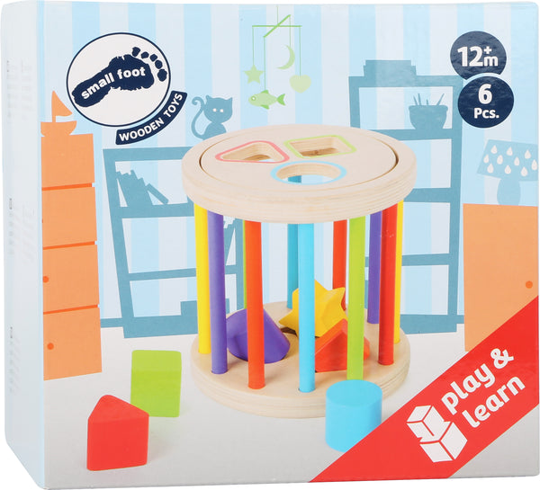 small foot colour and shapes motor skills toy in box