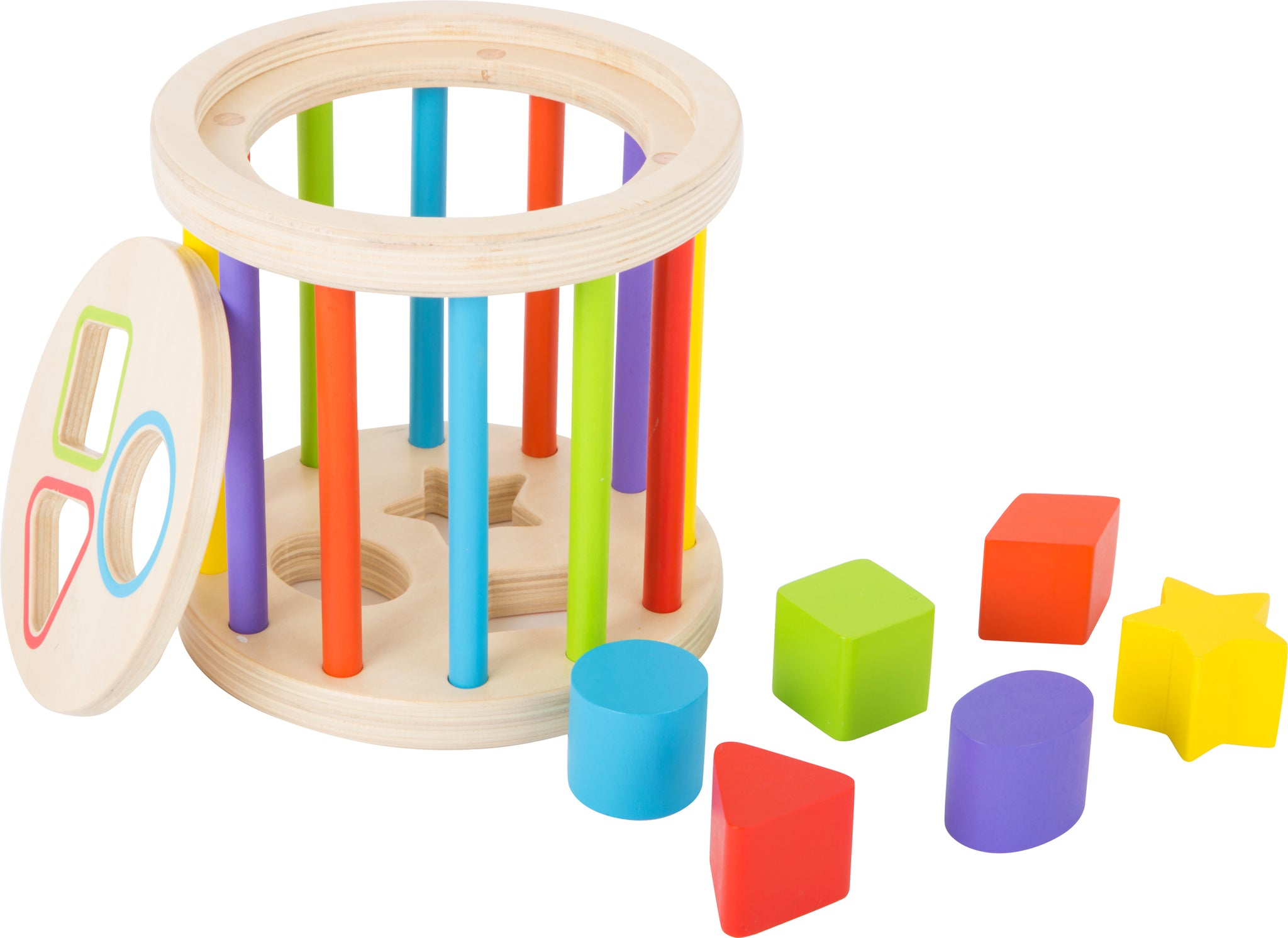 Small Foot wooden Rolling Shape Sorter