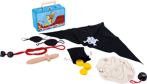Small Foot Pirates Case Play Set