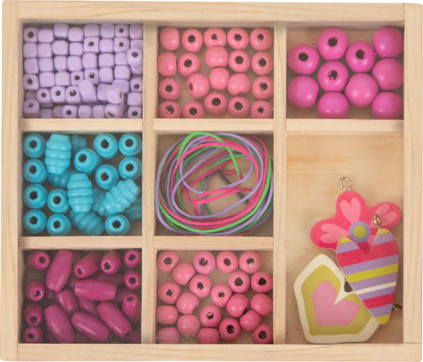 Small Foot Threading Beads Crafting Set