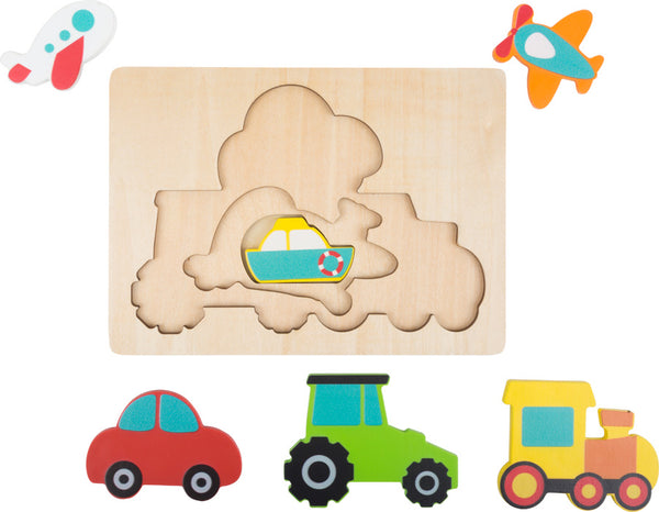 Small Foot Vehicles Puzzle