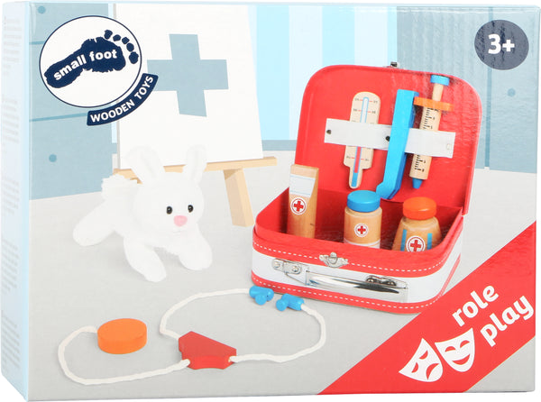 Small Foot Vets Case Play Set in box