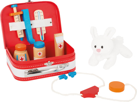 Small Foot Vets Case Play Set