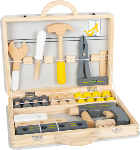 Small Foot Wooden Toolbox with tools