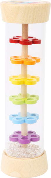 Small Foot wooden colourful Rainmaker musical toy