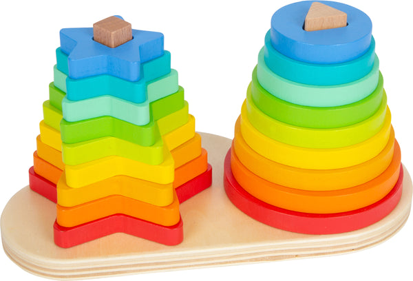 Small Foot Rainbow Shape Fitting Stacker